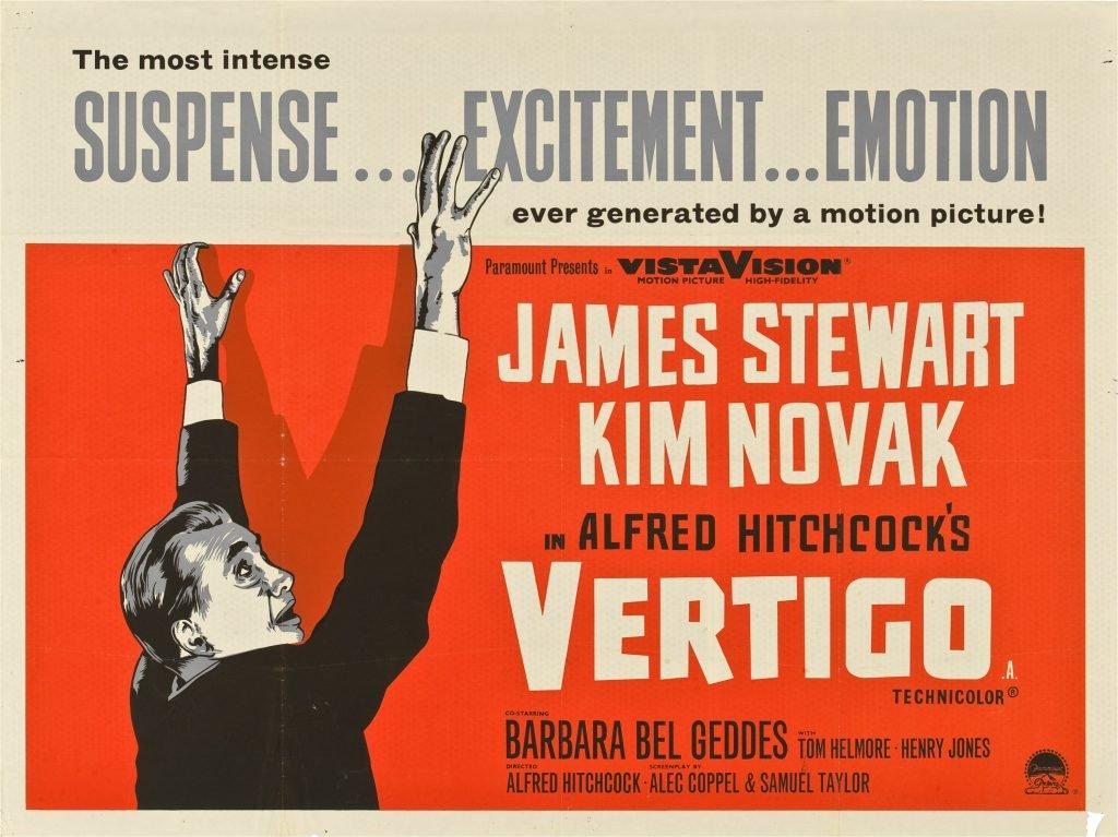 Vertigo film poster (1958)