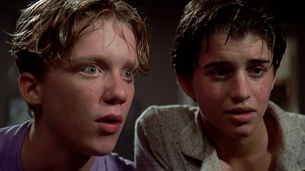 Anthony Michael Hall and Ilan Mitchell-Smith in Weird Science