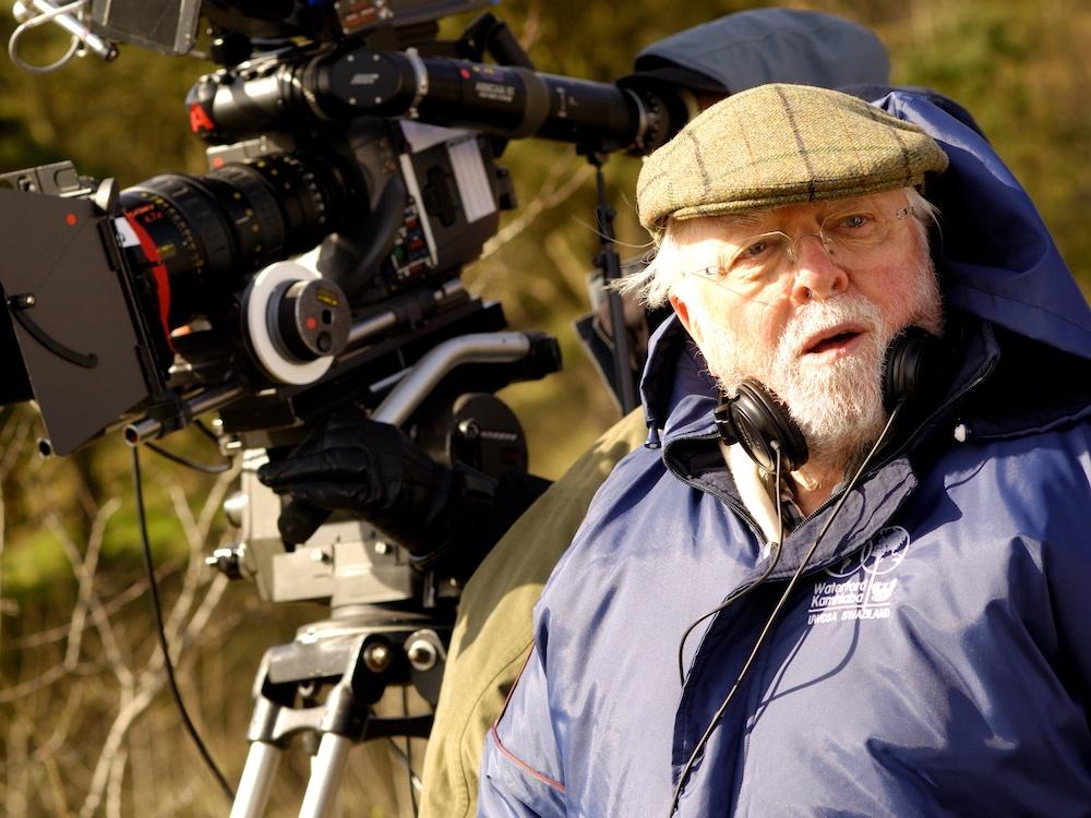 Filmmaker Richard Attenborough