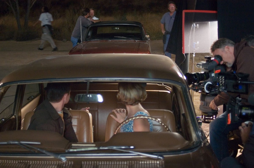 Fincher operating the second camera on Zodiac
