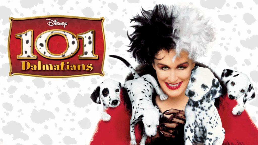 Glenn Close as Cruella De Vil in 101 Dalmations (1996)