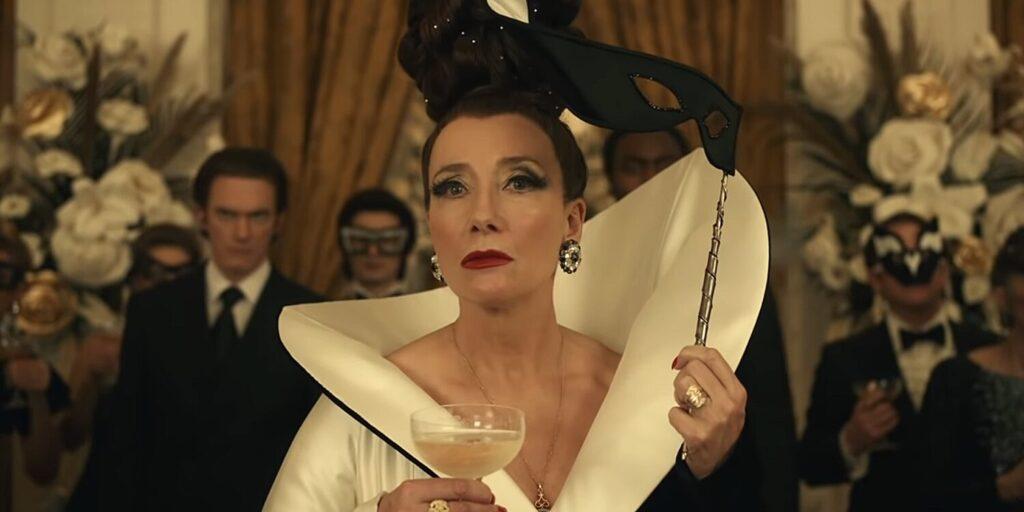 Emma Thompson as The Baroness in Cruella (2021)