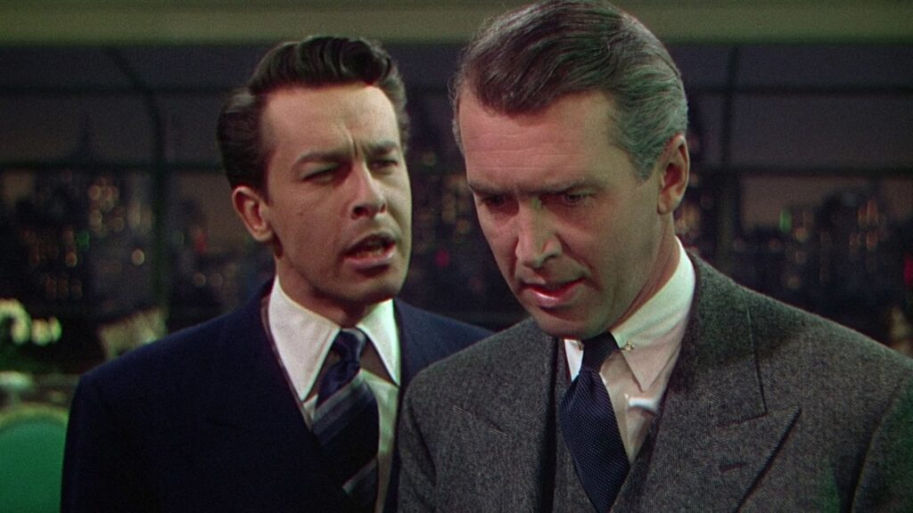 Brandon bragging to Rupert in Rope (1948)