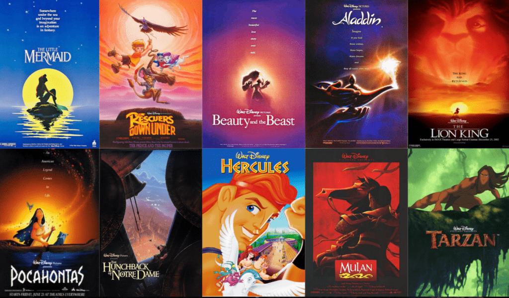 Disney Renaissance films